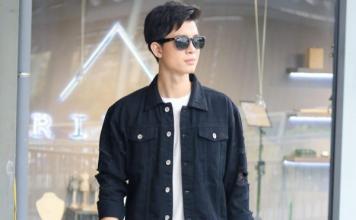 phối đồ với áo khoác jean nam